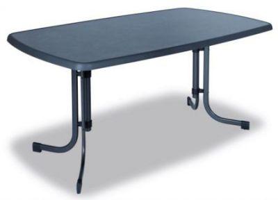 Fém asztal PIZZARA 150 x 90 cm