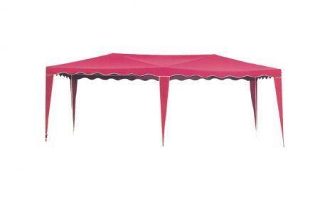 Kerti sátor 3601-PL piros 3 x 6 m