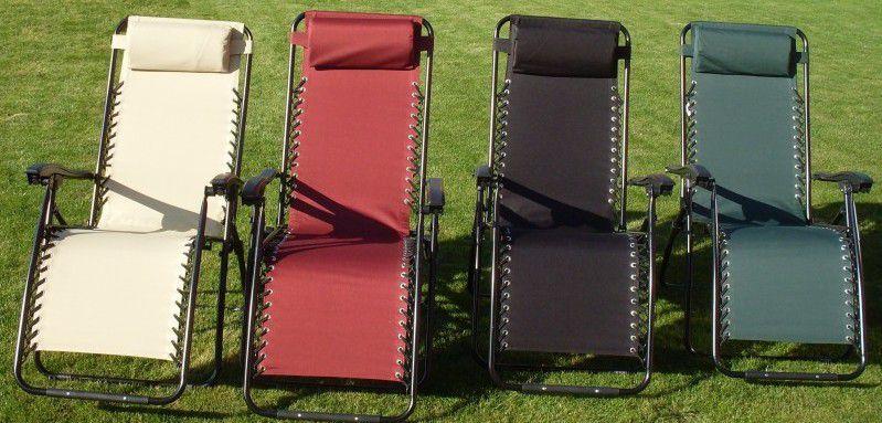 Kerti szék 2320 OXFORD, fekete